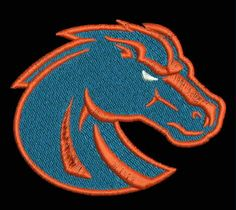 Boise State Broncos Embroidered Patch