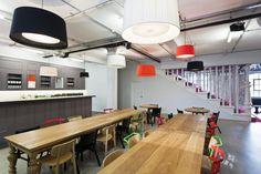 Forward's Inspiring London Offices #bafco #bafcointeriors Visit www.bafco.com for more interior inspirations.