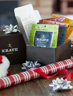 Krave jerky - the perfect guy friendly addition for your holiday party