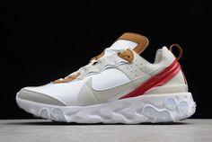 c13871247e Nike React Element 87 Sail/Light Bone-White AQ1090-101
