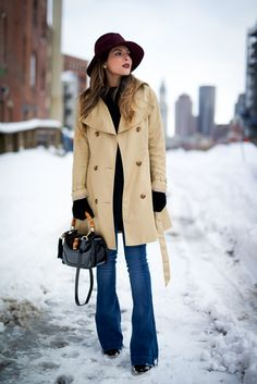Trench Coat - Winter Fashion   The Girl from Panama