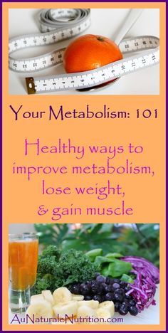 Your Metabolism: 101.  The three components of metabolism, what influences metabolism, and how macronutrient distribution pays a part.  By Jenny at www.AuNaturaleNutrition.com