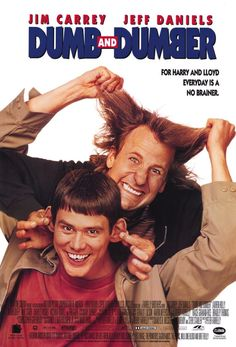 """Dumb & Dumber"" (1994) *Comedy by Peter & Bob Farrelly-- starring Jim Carrey & Jeff Daniels"