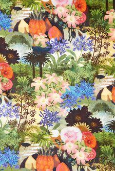 Desfeuits Tropical Print   by Paul & Joe Sister