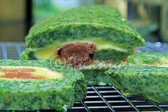 Terapia do Tacho: Torta de espinafres com queijo e presunto (Spinach roulade with smoked ham and cheese)