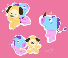 Mang and Chimmy