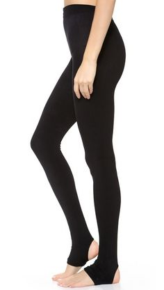 Plush Fleece Lined Tights with Stirrup. #fashion #women #tights