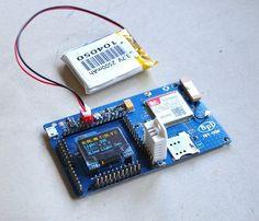 Banana Pi - BPI-GSM módulo GPS com Arduino