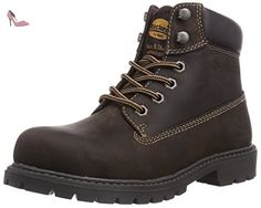 Dockers by Gerli 310712, Boots femme, Marron (Chocolate 010), 42 - Chaussures dockers by gerli (*Partner-Link)