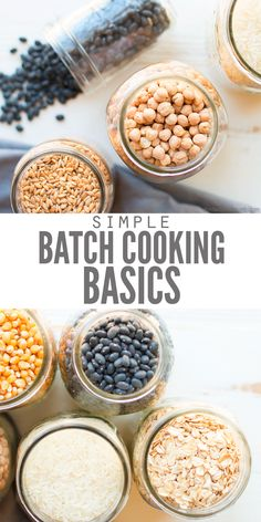 How to Save Time and Money with Batch Cooking Meal prep and batch cooking can really save you time and energy in the kitchen. Use the freezer to save family friendly recipes that you can reheat all month long. Whether you're vegan, paleo, keto, vegetarian Batch Cooking Freezer, Bulk Cooking, Budget Freezer Meals, Cooking On A Budget, Healthy Cooking, Cooking Recipes, Cooking Tips, Bulk Food Prep, Frugal Meals