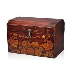 Hand-Carved Floral Book Trunk, $95, now featured on Fab.