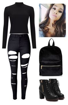 """""""Girl Meets Father #2"""" by bella-014 ❤ liked on Polyvore featuring Miss Selfridge and WithChic"""
