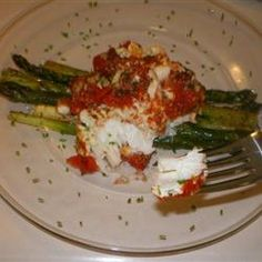 Tried this tonight and it was super easy and everyone really liked it!  And it actually looked better than this picture. I sauteed my own garlic and onions and added thyme to a plain can of diced tomatos. Other than that...as is. I recommend this one. Baked Cod with Boursin Herb Cheese Allrecipes.com