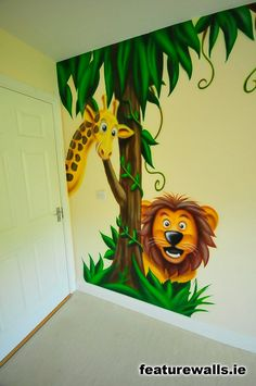 . Jungle Theme Nursery, Nursery Themes, Nursery Ideas, Disney Characters, Fictional Characters, Future, Baby, Painting, Future Tense