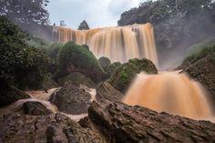 Elephant Falls in Dalat Vietnam [OC][4896  3264]