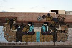 @khughesodgers #Streetart in the #Pilbara via http://theopeninghours.com.au