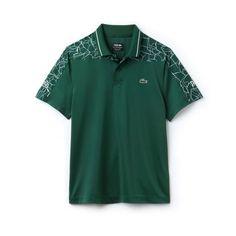 4d234a0306 Men's SPORT Print Technical Jersey Polo - x Novak Djokovic On Court Premium  Edition | LACOSTE