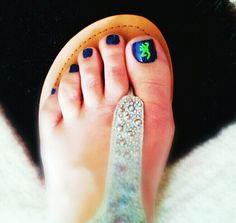 Adorable!!!    Browning Finger & Toe nail Decals by aLwAyScCd on Etsy, $4.00