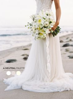 10 Wedding Color Palettes We Heart in a big way starting with #1 Neutrals  Read more - http://www.stylemepretty.com/2013/09/05/wedding-color-palette-round-up/   #detalles de #boda #regalos#original