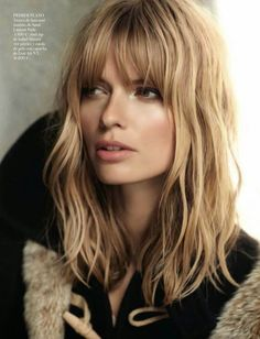 How To Get This Year's Biggest Hair Trend- Bardot Bangs[L]