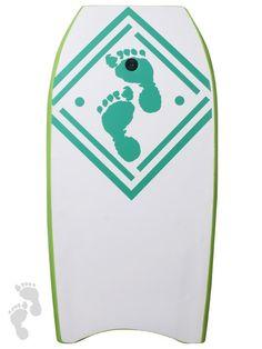 "42"" green diamonds bodyboard, get one now from twobarefeet"