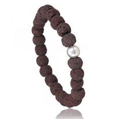 Brown Lava stone Bracelet
