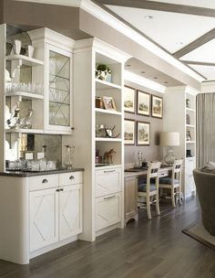 A clever arrangement of bar and office areas create a truly multi-functional bonus room   Vail Ramshorn Unit 7A   Bardes Interiors