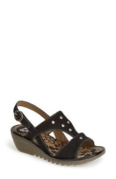 4f10e1d6dae1 Fly London  Odum  Wedge Sandal (Women)