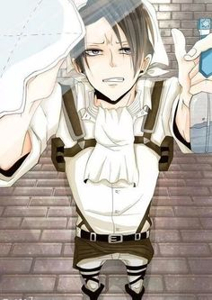 Levi cleaning your lock screen