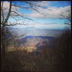 View atop Rich Mountain in Great Smoky Mountains National Park