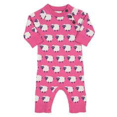 Kite - Organic Cotton - Romper - Knitted - Ewe Lamb