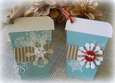 Coffee Cup Gift Tags