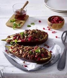 Das Rezept für Gefüllte Auberginen und weitere kostenlose Rezepte auf LECKER.de