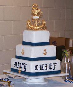 US Navy Chief Cake