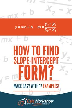 Learn how to identify the slope and y-intercept, write and graph an equation in slope-intercept form, and how to change an equation from slope intercept to standard form. Algebra 2 Help, Algebra 1, Inverse Functions, Linear Function, Systems Of Equations, Solving Equations, Linear Programming, Curriculum, Homeschool