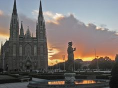 """Catedral Metropolitana de la Plata""""Inmaculada Concepción""""Buenos Aires_Boca do Lobo show you the best places to travel, tickettoride, traveling, beautifulworld, ifestyle travel, tourism,  best cities http://www.bocadolobo.com/en/"""