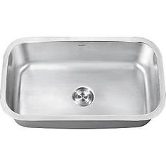 Ruvati RVK4200 Undermount 18 Gauge 32in Kitchen Sink Single Bowl