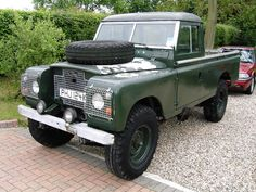 Land Rover Series 2a 109 one ton pickup