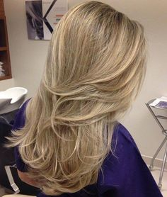 Layered Hairstyle For Long Thick Hair
