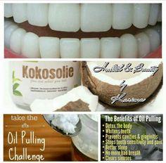 kokos witte tanden
