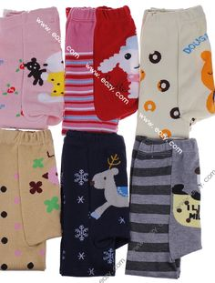 Baby Toddler Boy Girl Leggings Trousers Pants Multi-color Design #eozy