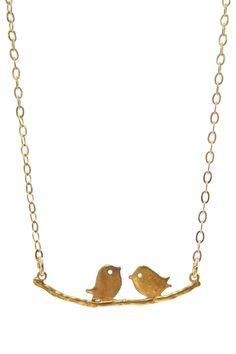 love birds necklace by Jami Rodriguez