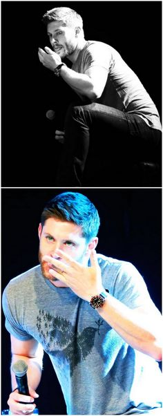 Damn apple juice :) - Jensen, JIBCon2015 (photos by elsiecat)