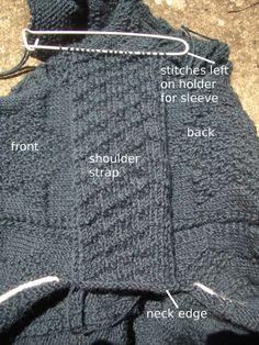 Gansey  shoulder strap