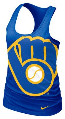 ae0fac392d7a83 Brew crew. Love baseball tanks! Better if mets or royals tho  p Tone