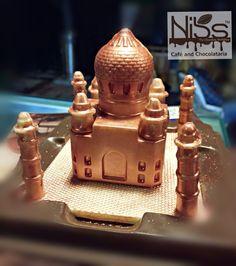 #white #chocolate #tajmahal #beautiful #india #jaipur #present #gift #love