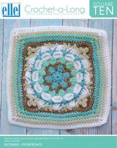 CAL Square 10 - Crochet-a-Long - Patterns