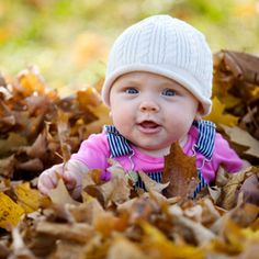 Great fall picture for Izzy's 9 month!