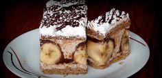 Božské gaštanové rezy s banánovým prekvapením