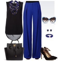 Palazzo Pants by sindhu-aries on Polyvore featuring Thakoon Addition, Emporio Armani, Sole Society, Michael Kors, Ankora, Hring eftir hring, Gucci, StreetStyle, india and palazzo